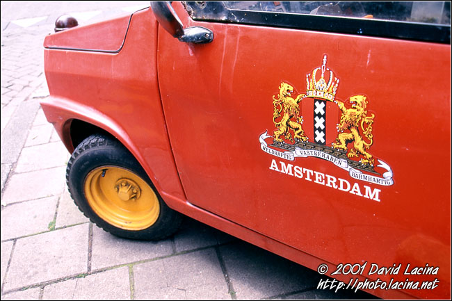 Car On Amsterdam Street - Best Of Netherlands, Netherlands