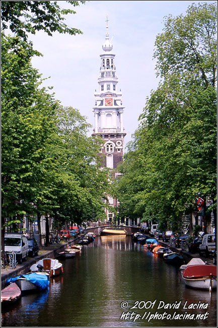 Canal And Church - Best Of Netherlands, Netherlands