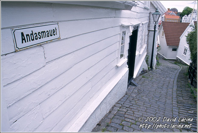 Street Of Stavanger Old City - Best of 2002, Norway