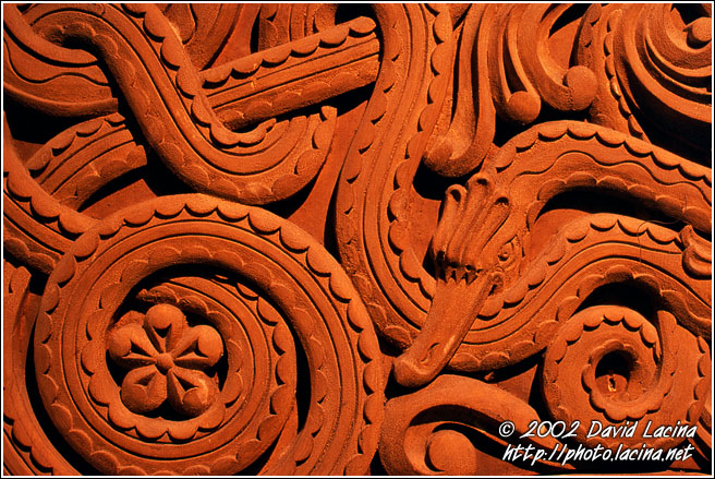 Detail Of Wood Carving - Best of 2002, Norway