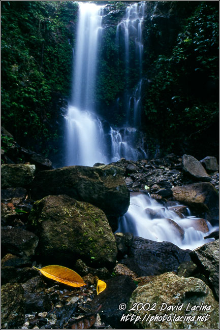 Waterfall - Lake Maninjau, Indonesia