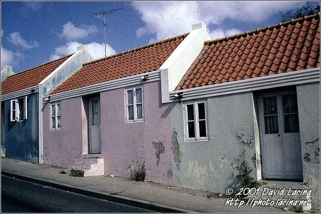 Colorful Houses In Punda - Best Of Curaçao, Curaçao