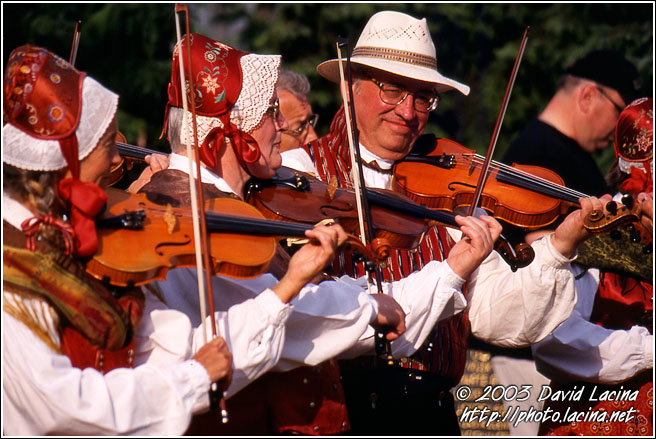 Folk In Prostejov - Moravia Historical, Czech republic