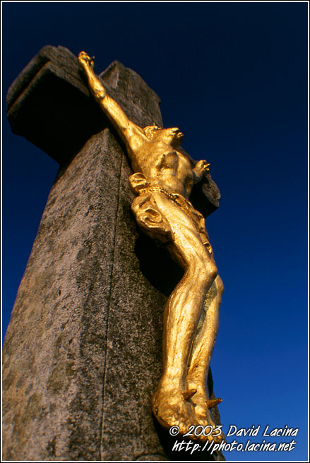 Crucified - By Radhost Chapel - Moravia Historical, Czech republic