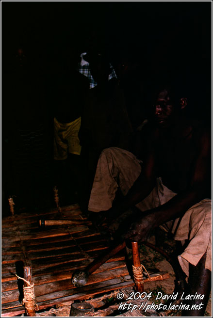 Playing Xylophone - Lobi tribe, Ghana