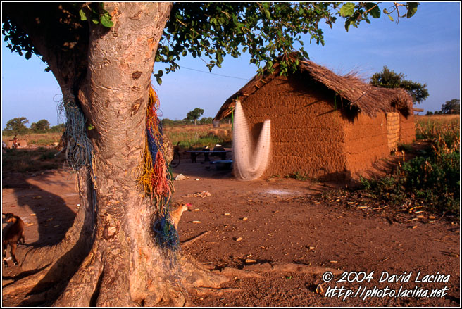 Fisherman's House - Lobi tribe, Ghana