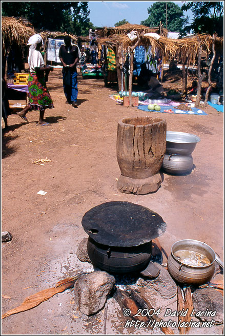 Local Market Restaurant - Local market, Ghana