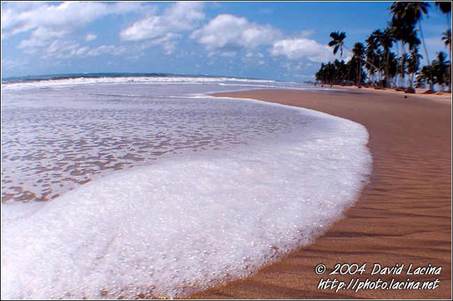 Wave Comming - Brenu beach, Ghana