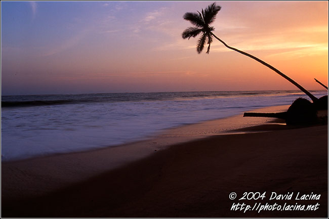 Romantic Sunset - Brenu beach, Ghana
