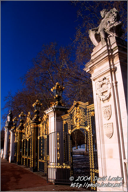 Green Park Entrance - London During Day, England