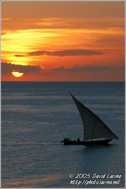 Day Is Leaving - Stone Town, Tanzania