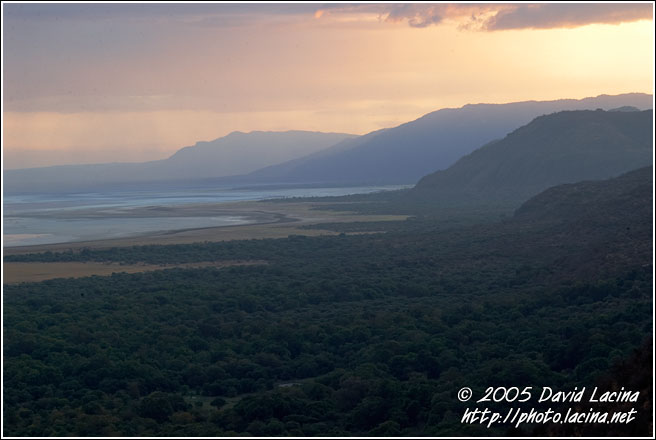 Sunset By Lake Tarangire - Ngorongoro Crater, Tanzania