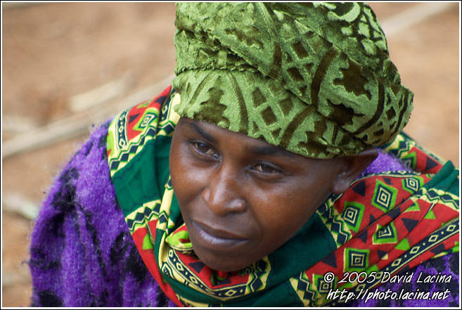 Usambara Woman - People Of Usambara Mountains, Tanzania