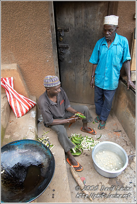 Preparing Dinner - People Of Usambara Mountains, Tanzania