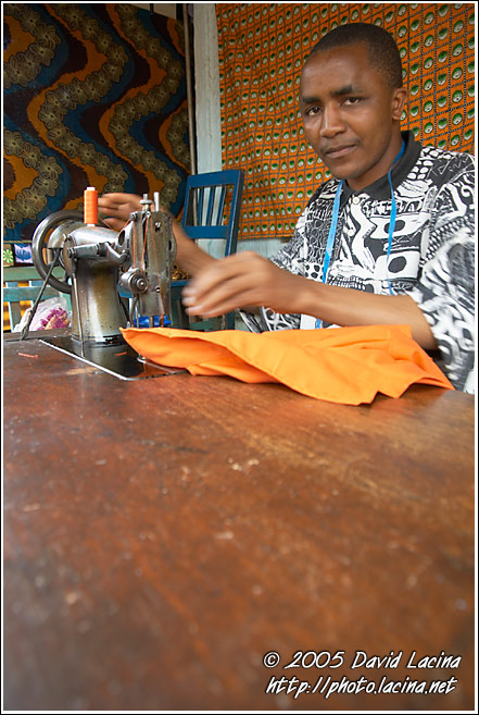 Dressmaker - People Of Usambara Mountains, Tanzania