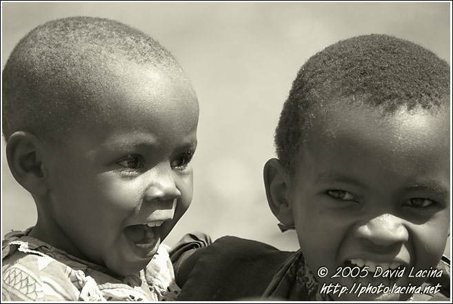 Lightness Of Life - Colorized Tanzania, Tanzania