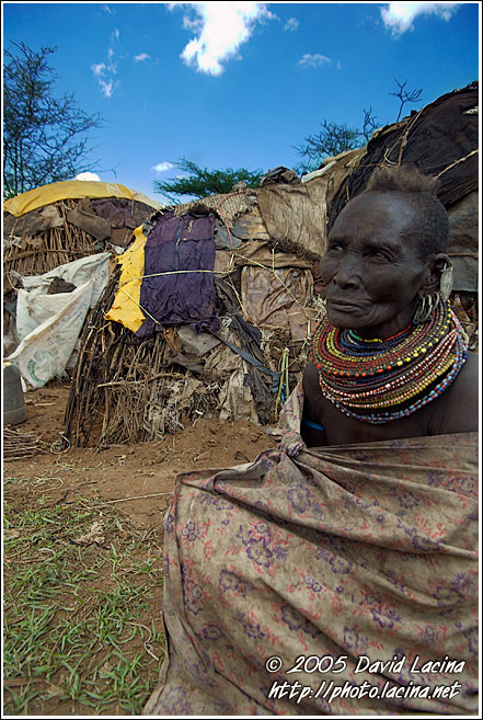 Turkana Woman - Turkana Tribe, Kenya