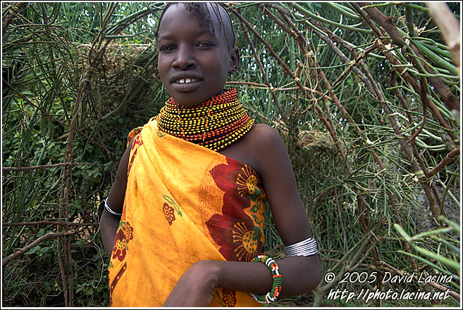 Turkana Girl - Turkana Tribe, Kenya