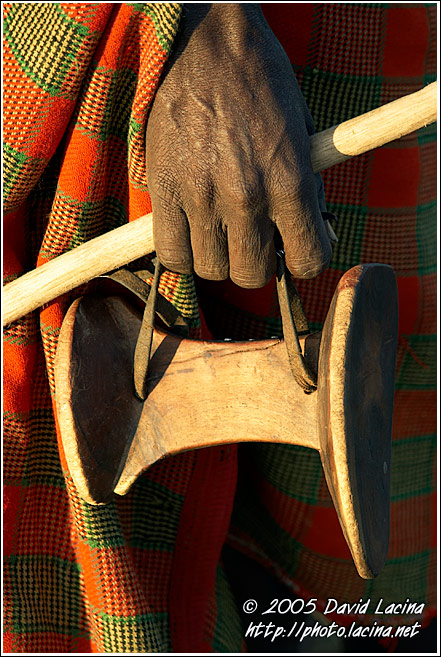 Ekicholong - Turkana Stool And Neck Rest In One - Turkana Tribe, Kenya