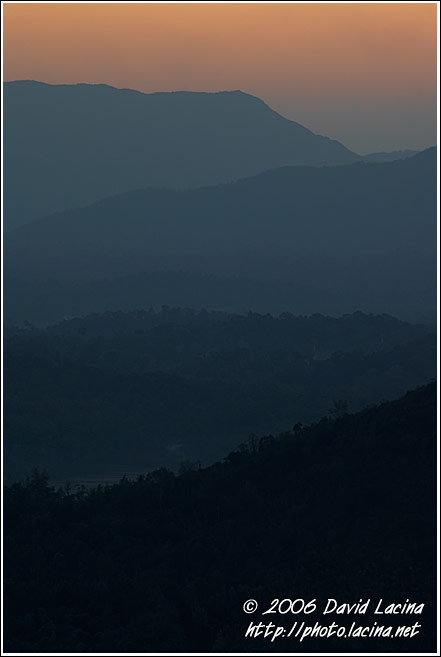 Colours Of Sunset - Kodagu (Coorg) Hills, India