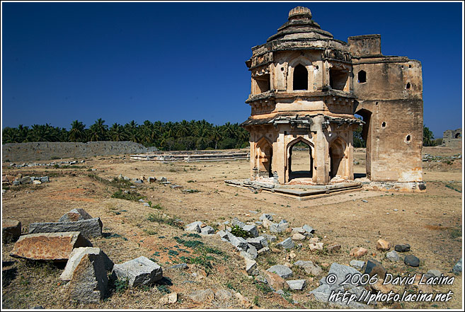Watch Tower, Royal Centre - Hampi Historical, India