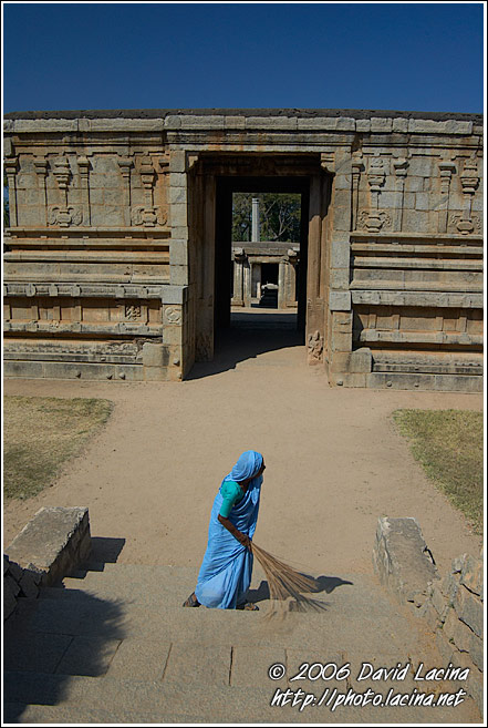 Underground Virupaksha Temple - Hampi Historical, India