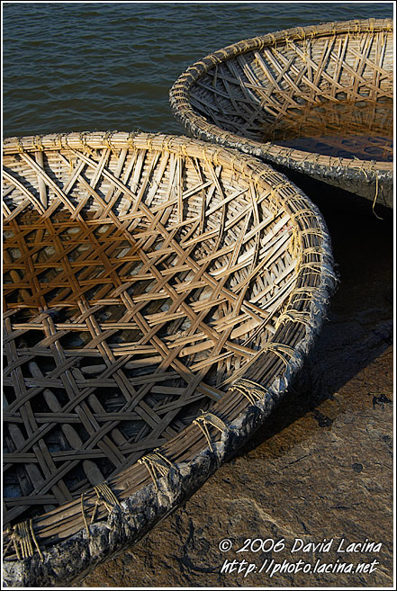 Detail Of The Coracle - Hampi - Nature, India