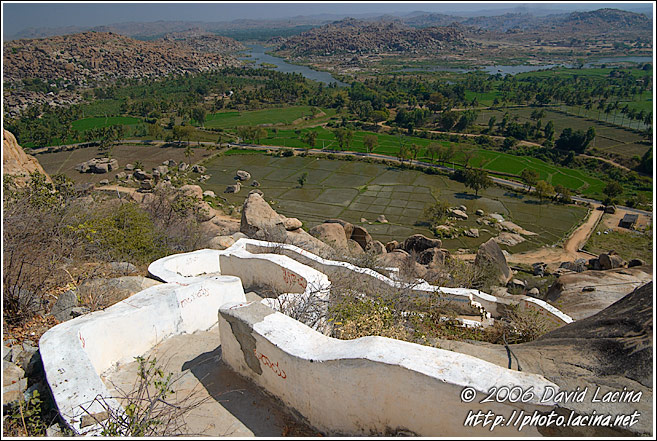 Steps From Monkey Hill - Hampi - Nature, India