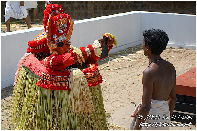 God In The Mirror - Theyyam Ritual Dance, India