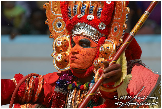 Performing Theyyam - Theyyam Ritual Dance, India