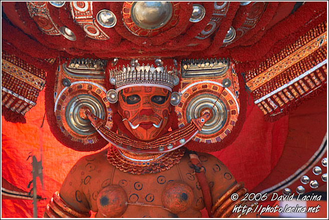 Kolam - The Dancer - Theyyam Ritual Dance, India