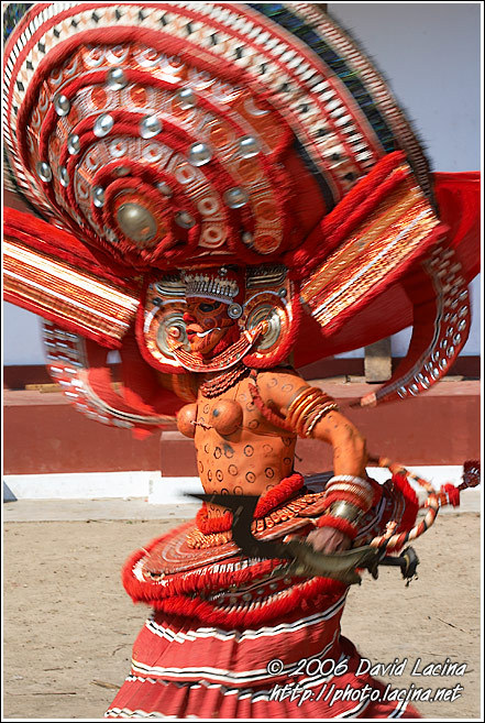 Wild Theyyam Dance - Theyyam Ritual Dance, India