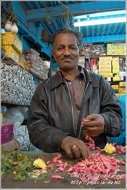 Seller At The Ooty Market - Ooty, India