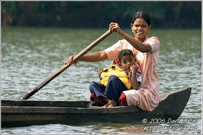 Residents Of Backwaters - Backwaters, India
