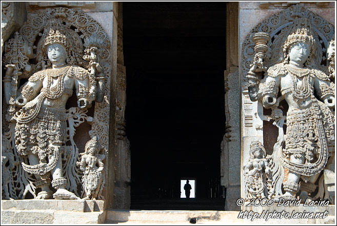 Side Entrance Of Hoysaleswara Temple - Belur And Halebid, India