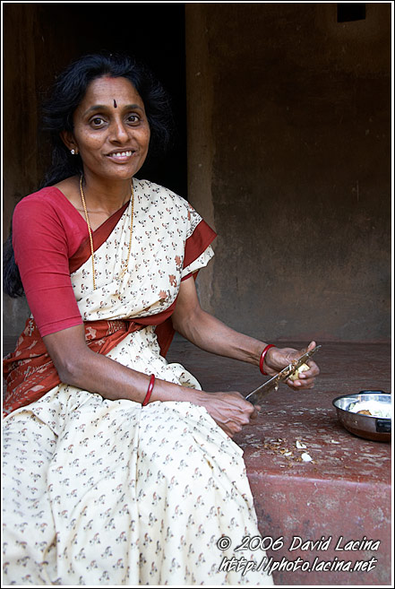 Indian Woman, Coorg (Kodagu) Hills - The People, India