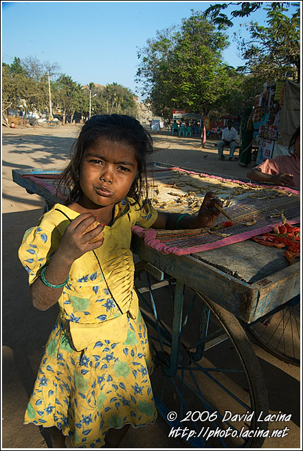 Girl In Hampi - The People, India