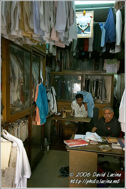 At The Drycleaner, Bangalore - The People, India