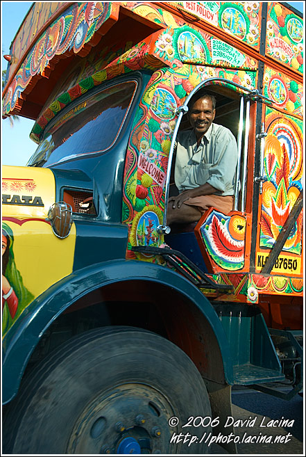 Driver, Cochin - The People, India