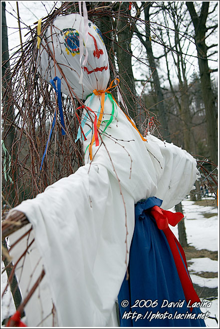 Morena - The Bad Spirit - Spring celebrations in Wallachia, Czech republic