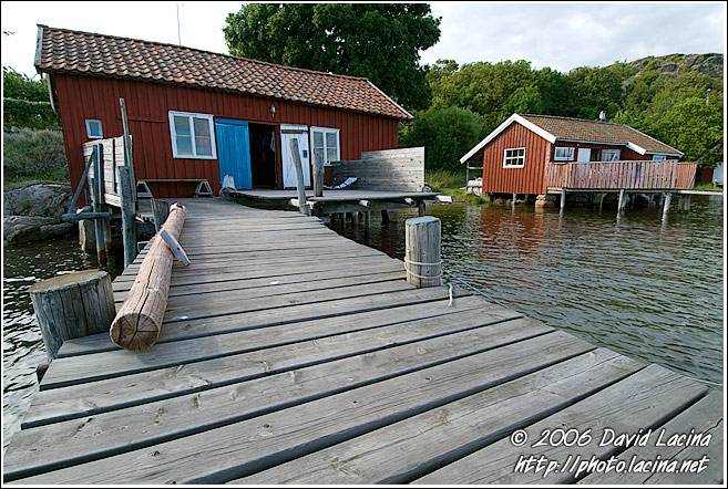 Fishermen Houses, Koster Island - West coast, Sweden