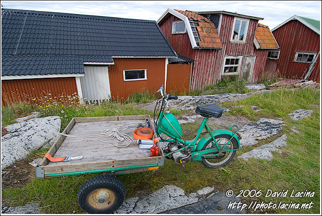 Still Life By Fisherman's House, Koster Island - West coast, Sweden