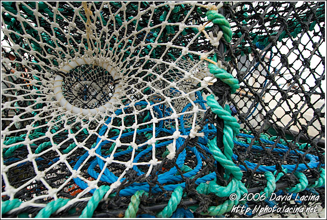 Crab Nets, Koster Island - West coast, Sweden