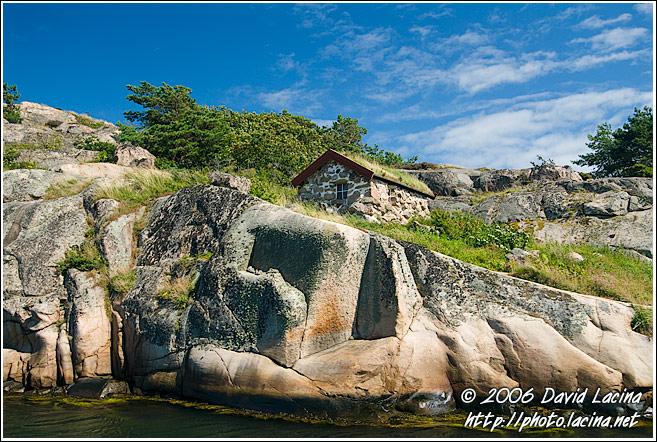 House On A Cliff - West coast, Sweden