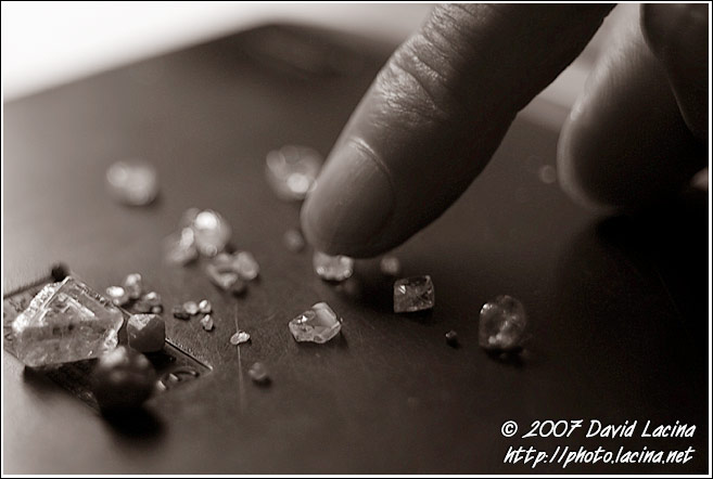 Diamonds In Diamond Office - Diamond Mines, Sierra Leone
