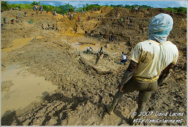 Overlooking Diamond Mine - Diamond Mines In Color, Sierra Leone