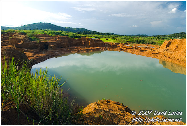 Landscape Of Koidu - Diamond Mines In Color, Sierra Leone