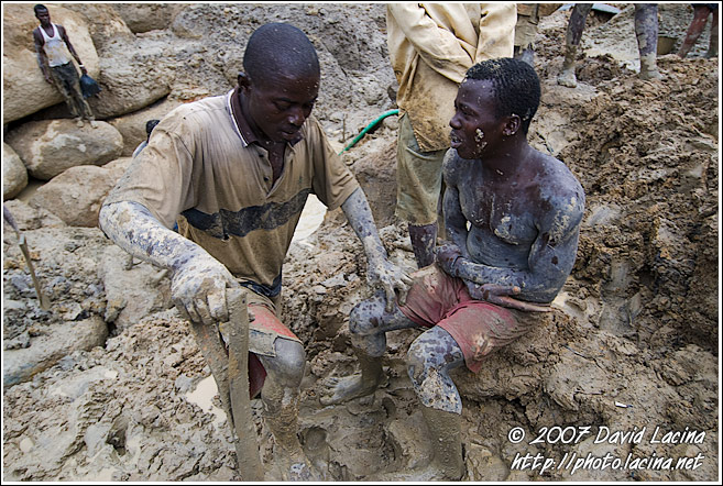 Going To Take A Rest - Diamond Mines In Color, Sierra Leone