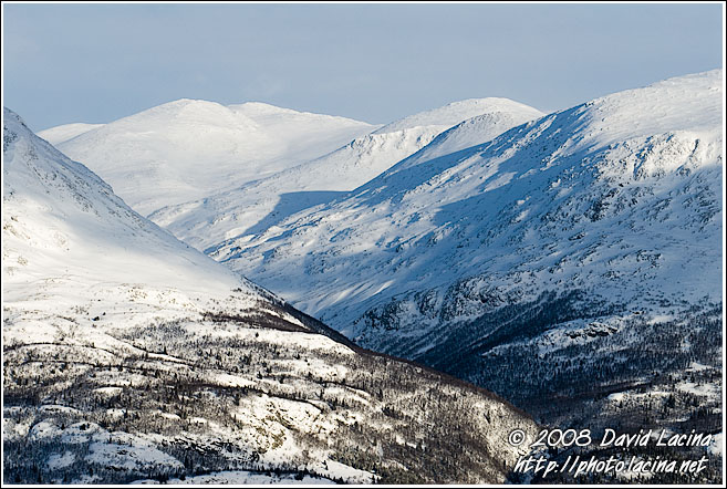 Øvredalen - Hemsedal In Winter, Norway