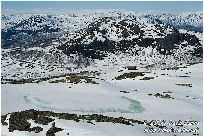 View From Systerskardfjellet - Hemsedal In Winter, Norway